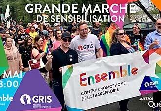 Ensemble contre l'homophobie et la transphobie – 2e édition