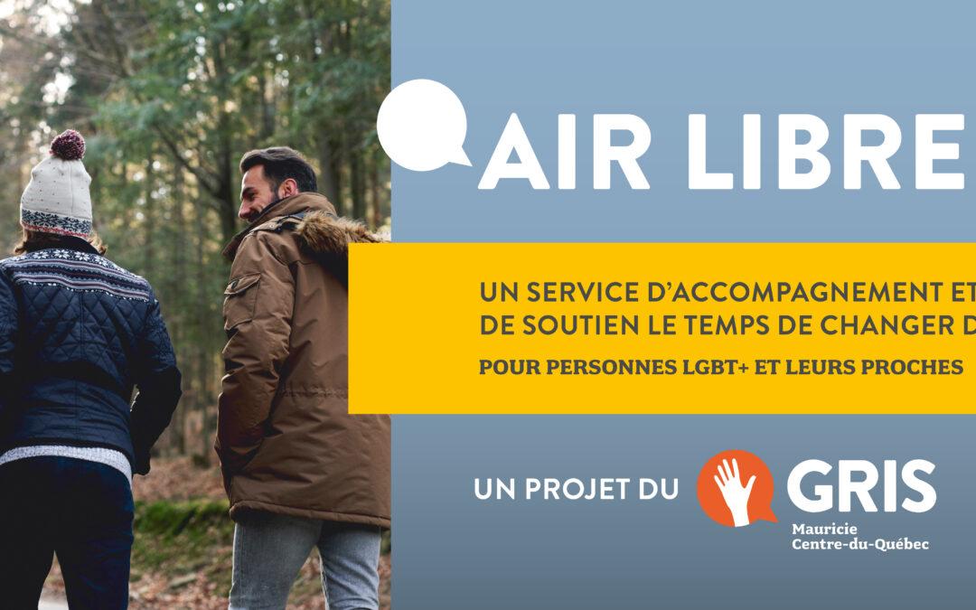 Air Libre – Nouveau service