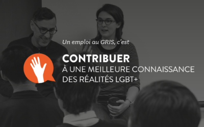 Le GRIS embauche : agent-e à la démystification